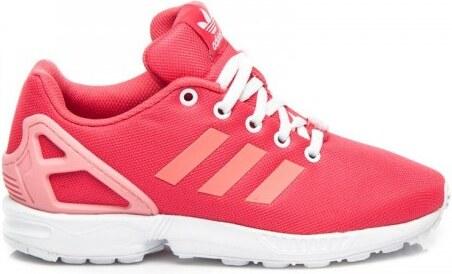 2832c0e12226 Dámské boty ADIDAS ZX FLUX růžové - růžová - Glami.cz