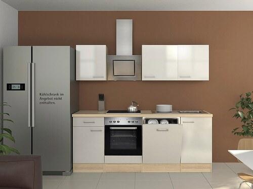 Küchenzeile mit E-Geräten »Oregon«, Breite 220 cm, Set 2