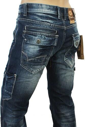 M. SARA kalhoty pánské KA6820 kapsáče jeans - Glami.cz 380eaf4b6c