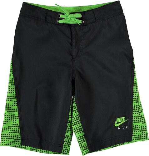 Plážové kraťasy Nike dět. černá zelená - Glami.cz c435eb57af