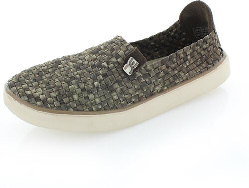 Dude Shoes Sötétzöld férfi mokaszin E-Last Weave - Glami.hu 738ab03d7f
