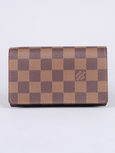 LOUIS VUITTON peněženka Porte Tresor Damier Ebene - Glami.cz a134d0ee098