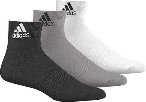 adidas PERFORMANCE Dámské kotníkové ponožky ADIDAS Thin Ankle 3PP ... 253b4c3d83