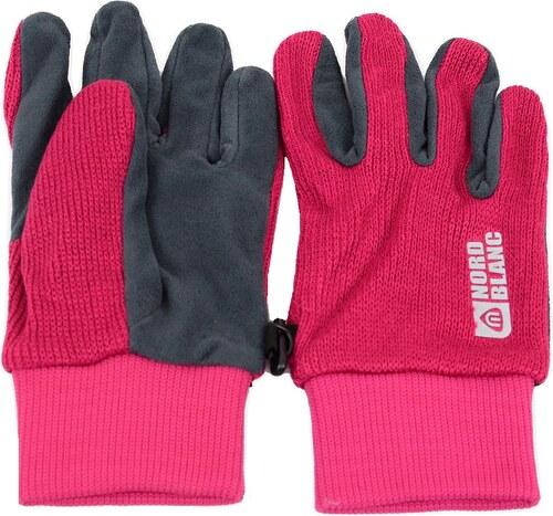 Dámské pletené rukavice NORDBLANC COMET NBWG4725 RŮŽOVÁ - Glami.cz 5426f73968