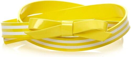 Benetton Gürtel schmal - gelb