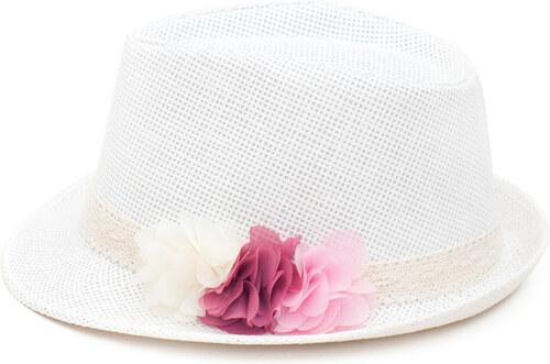 5367f77d2dd Art of Polo Dámský letní klobouk květy - bílá cz16151.2 56 cm - Glami.cz