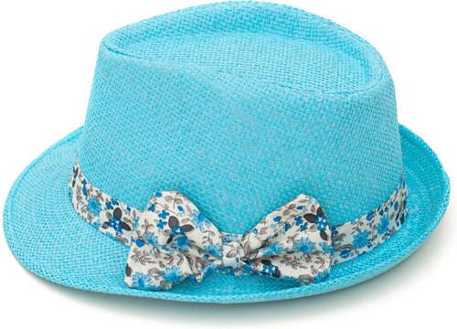 9e2aec06cc3 Art of Polo Dámský letní klobouk s mašlí - tyrkysová cz15161.13 ...