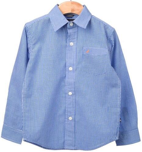 Nautica chlapecká košile 110 modrá - Glami.cz 6801bb4076