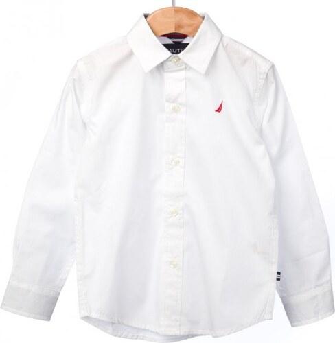 Nautica chlapecká košile 110 bílá - Glami.cz b530b3eb99