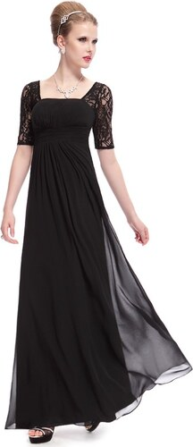 4c0373734e4 Společenské šaty černé dlouhé Ever Pretty 8038 - Glami.cz