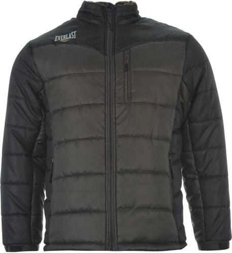 640278efb10b Zimní bunda pánská Everlast Padded Grey - Glami.sk