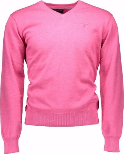 Pánský svetr GANT - Růžová   M - Glami.cz 6a6b7cf2a1