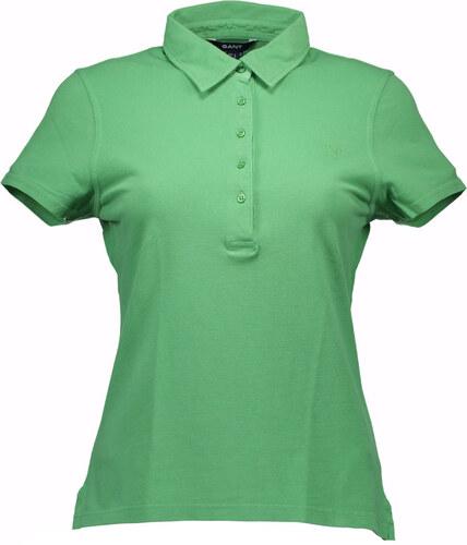 7ad0220fcd70 Dámské polo tričko Gant - Zelená   XL - Glami.cz