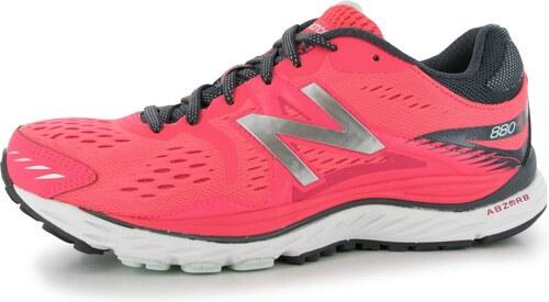 71f4fcd6004 New Balance W880v6 B dámské běžecké boty Pink Grey White - Glami.cz