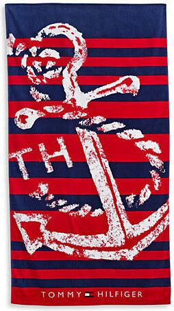 Plážová osuška Tommy Hilfiger s kotvou - Glami.cz 86b87747c2