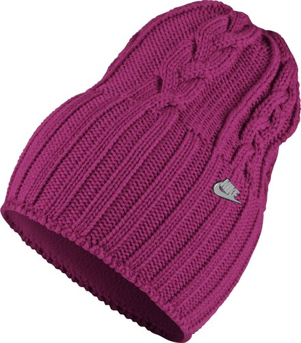 Nike Hřejivá zimní čepice růžová Jednotná - Glami.cz ae58062a62