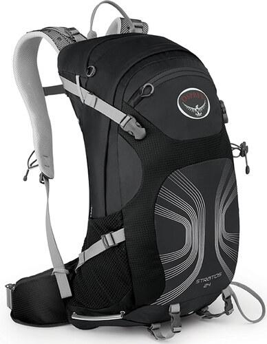 e52ca40dfc6 Pánský turistický batoh OSPREY STRATOS 24 ANTHRACITE BLACK velikost  unisize