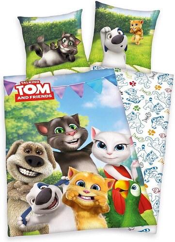 Jugendbettwäsche, Talking Tom, »Party Friends«, mit Tieren