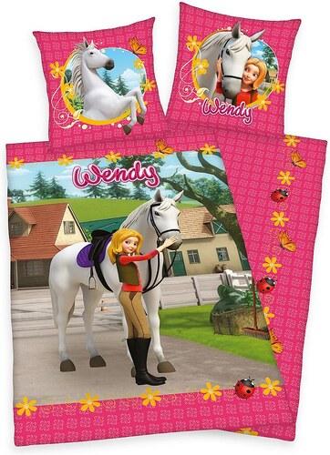 Kinderbettwäsche, Wendy, »Wendy & Pony«, mit Pferde Motiv