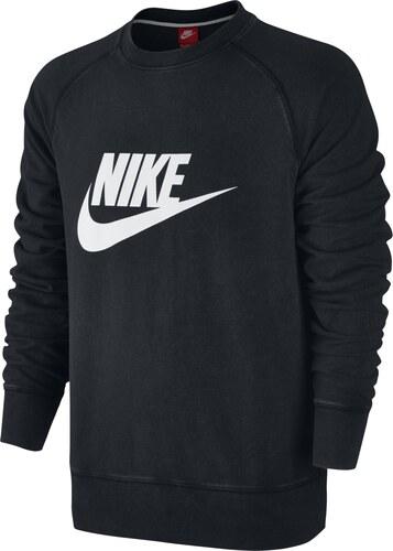 Černá pánská mikina Nike Aw77 Lt Wt Crw-Solstice 728687-010 - Glami.cz 81ba908f06