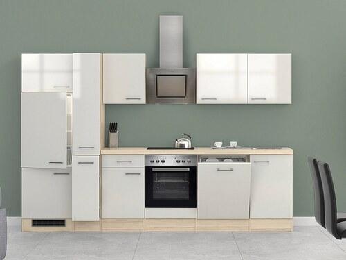 Küchenzeile mit E-Geräten »Oregon«, Breite 310 cm