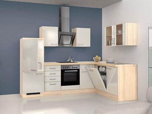 Winkel-Küchenzeile mit E-Geräten »Oregon«, Breite 280 x 170 cm