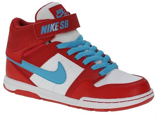 boty Nike SB Mogan Mid 2 JR B - University Red Blue Lagoon White ... 445c5dfb96
