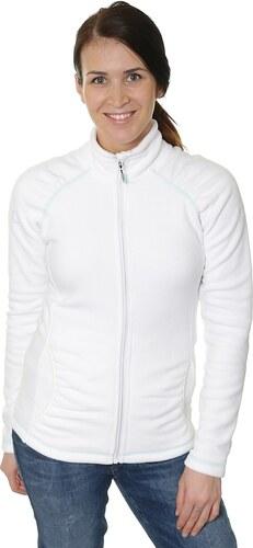 mikina Roxy Harmony Zip - WBB0 Bright White - Glami.cz e672491c8e6
