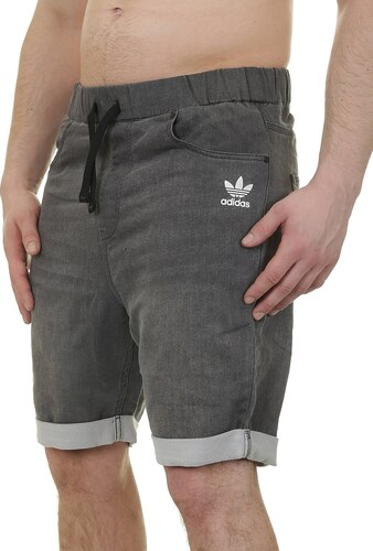 kraťasy adidas Originals French Terry Denim - Medium Gray Denim XL ... ab637bf2be