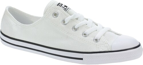 boty Converse Chuck Taylor All Star Dainty OX - 551657 White White Black 41 e6286d00462