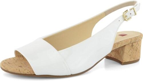 Högl sandály lakované bílé - Glami.cz 0ac5a6ffb4