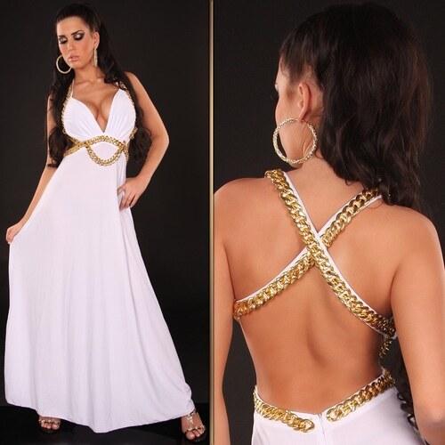 757ffac676a7 Biele dlhé šaty - Glami.sk