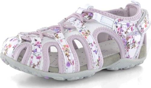 833f92344f0 Geox dívčí sandály květované Roxanne Lilac - Glami.cz