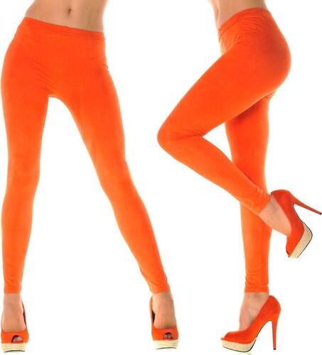 moderní oranžové legíny