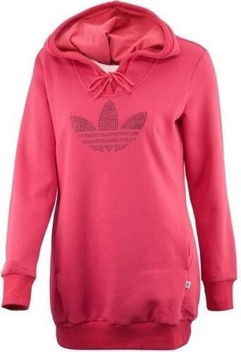 Dámská růžová mikina s kapucí adidas Originals RS FLE HOODIE - Glami.cz 049bc6bfb2c