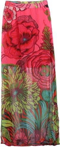 a7667093e0 Květovaná sukně Desigual Fal Brenda - Glami.cz