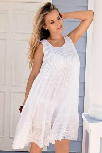 9062ca871e7c Luxusní italské letní šaty z kolekce Iconique 621KB bílá L - Glami.cz