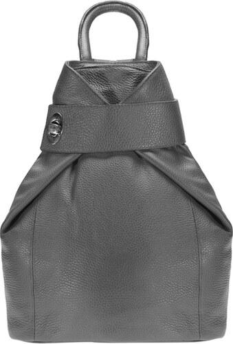 ESTELLE Dámský kožený batoh 0960 šedý - Glami.cz 7ad7ceae13