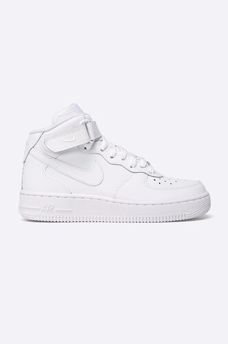 Nike Kids - Dětské boty AIR FORCE 1 MID GS - Glami.cz 8aaac3a38fa