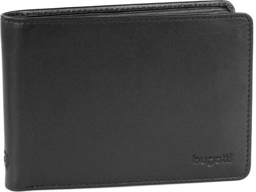 538f89553c2 Bugatti Pánská kožená peněženka PRIMO 49107901 černá - Glami.cz