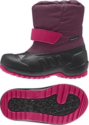 4784a2f465e Zimní boty adidas Performance CH WINTERFUN GIRL K (Fialová   Černá ...