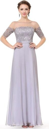 b7019d5a6954 Elegantní Ever Pretty plesové šaty šedé 8459 - Glami.cz