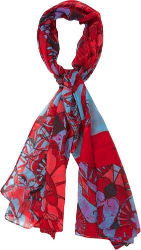 Desigual šátek Rectangle Rita - Glami.cz 2077ee0cdd