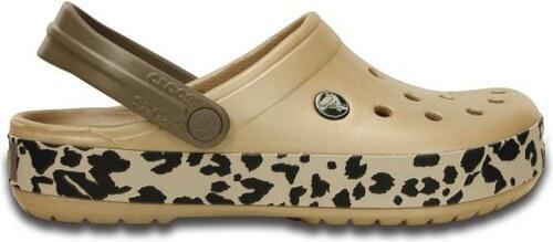 204b91b27a9 Crocs Crocband Leopard Clog 36-37 (M4 W6)   Gold Black - Glami.cz