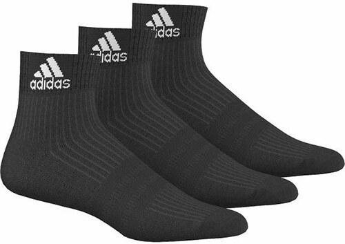 940f12bd8bf adidas PERFORMANCE Pánske čierne ponožky ADIDAS 3-Stripes Performance