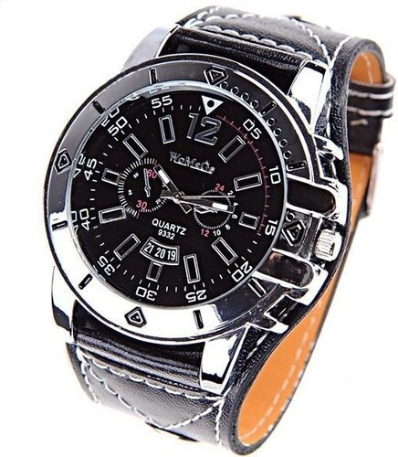 5305e557898 Womage Robust 1 - černé Masivní velké dámské hodinky - Glami.cz
