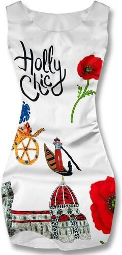 Kleid weiß Holly Chic 21977