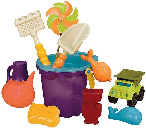 B.toys Sandspielzeug Set, »B. Ready Beach Bag Tomato«