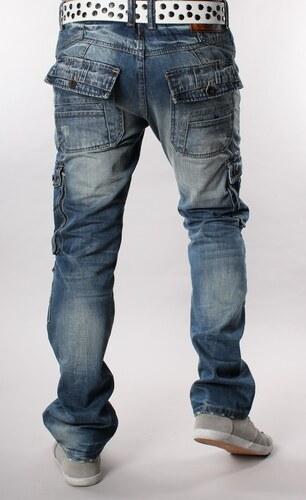 M. SARA kalhoty pánské 8036 kapsáče jeans džíny - Glami.cz 2d66d55bd4