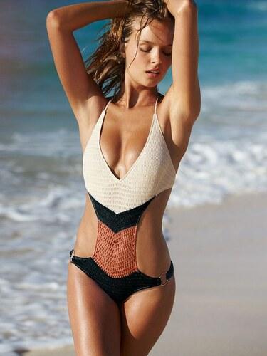 3f2e14e95 Victoria's Secret dámské plavky Crochet - Glami.cz